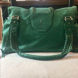 Cole Haan leather satchel